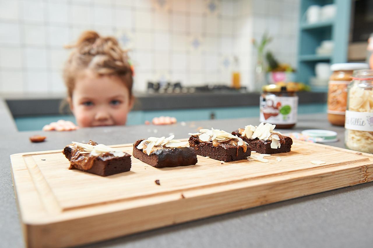 Herfstige brownie