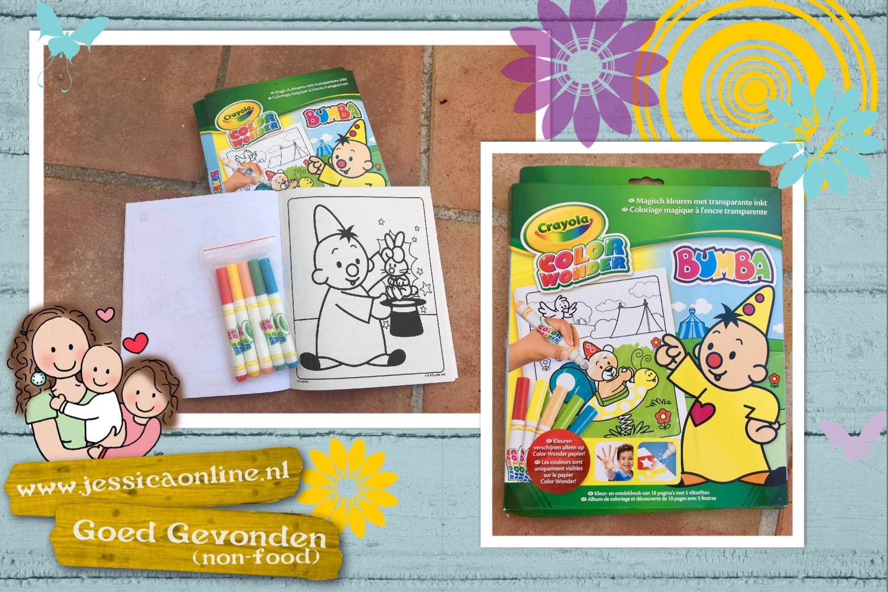 Crayola Color Wonder kleurset WINNEN!!!