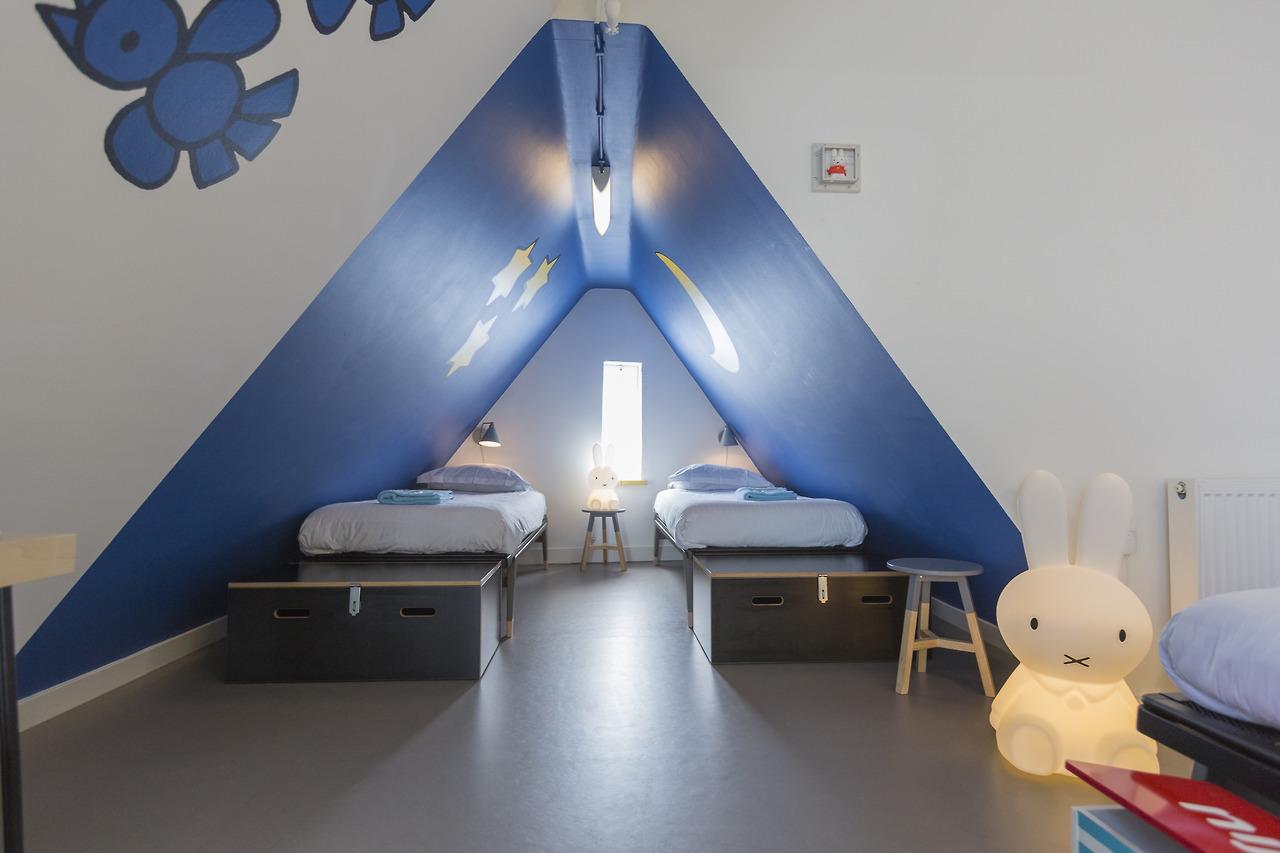De Nijntje kamer van StayOkay Utrecht