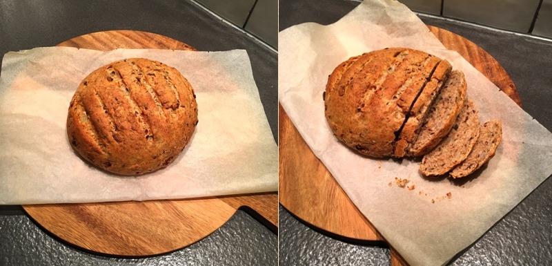 Knoflook-Uien-Rozemarijnbrood