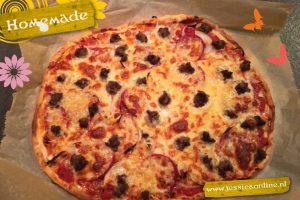 spelt pizza JessicaOnline.nl
