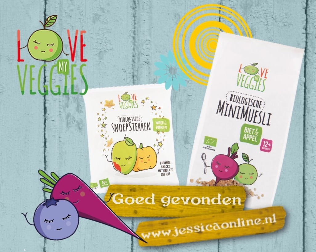 Love my veggies JessicaOnline.nl