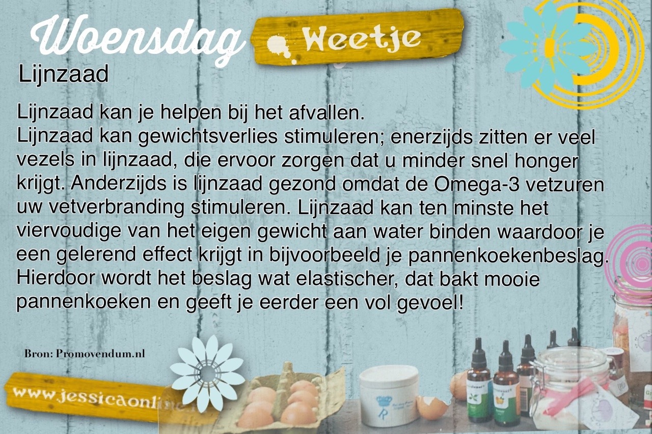JessicaOnline.nl Woensdag weetje A