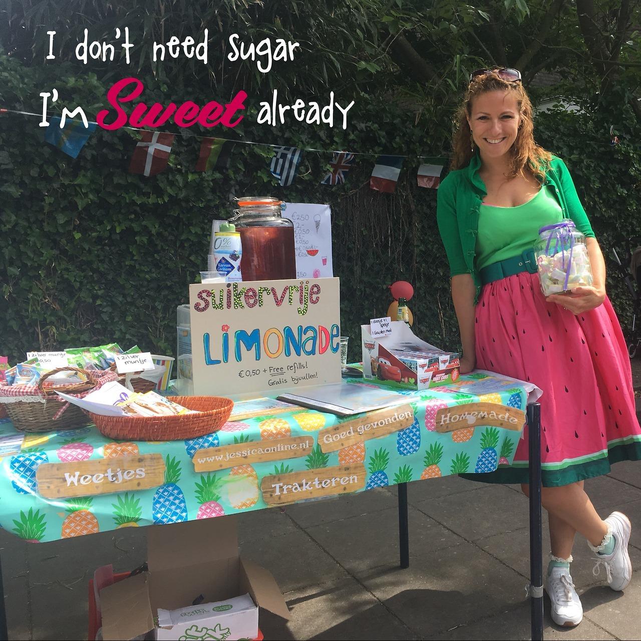 Bijna suikervrij zomerfeest