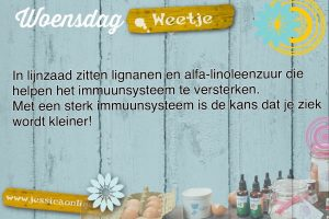 JessicaOnline.nl Woensdag weetje