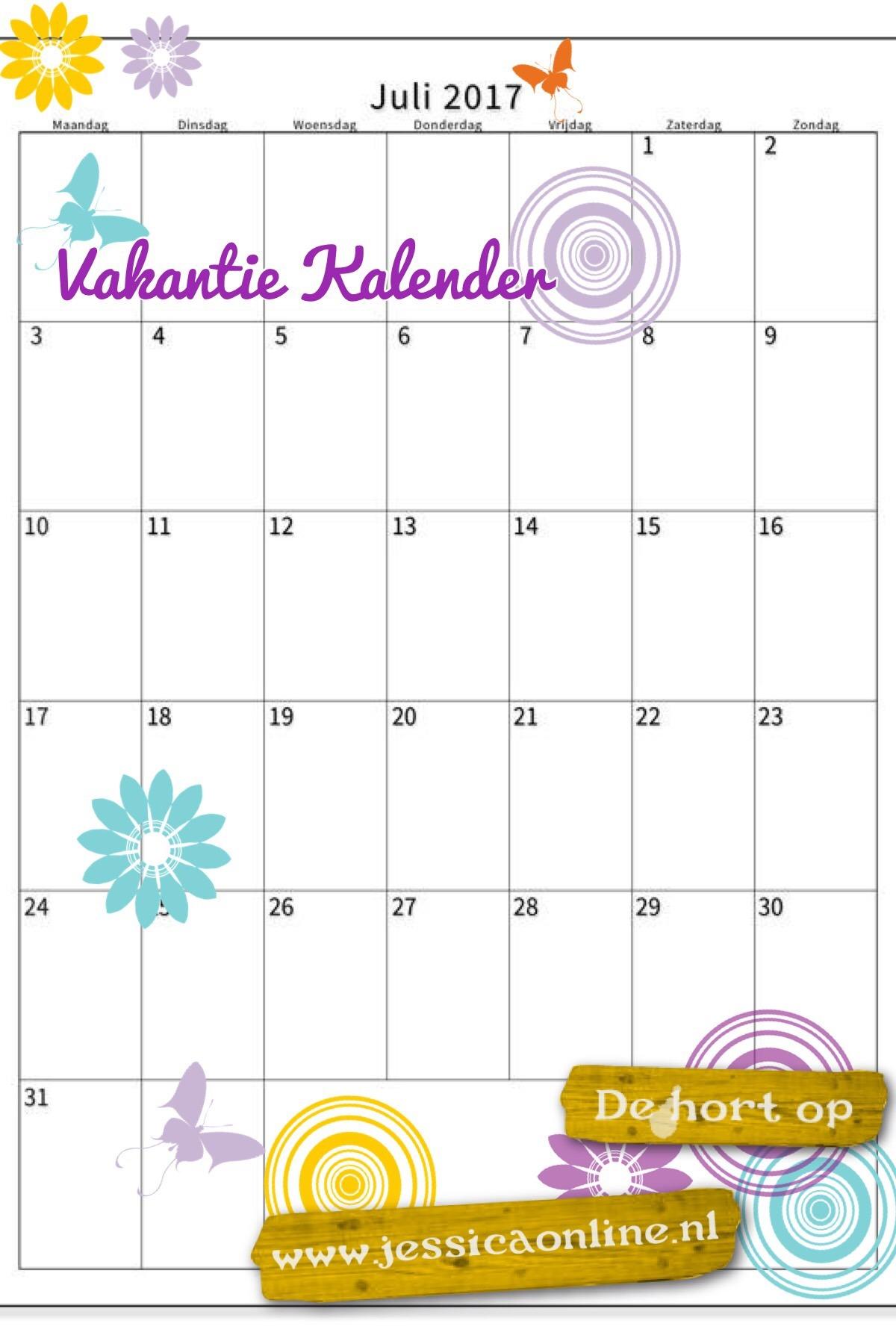 Vakantie Kalender