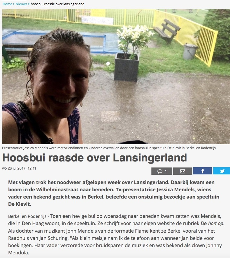 JessicaOnline.nl #DeHortOp in het nieuws