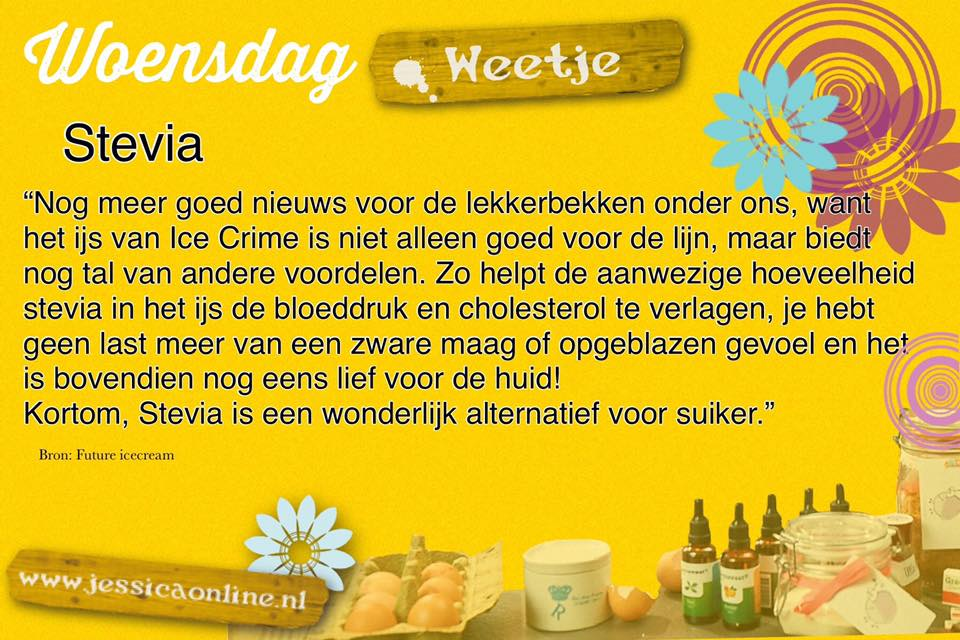 Woensdag Weetje JessicaOnline.nl Stevia