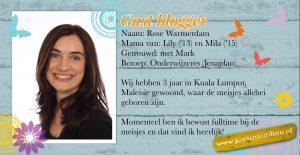 JessicaOnline.nl Gastblogger Rose