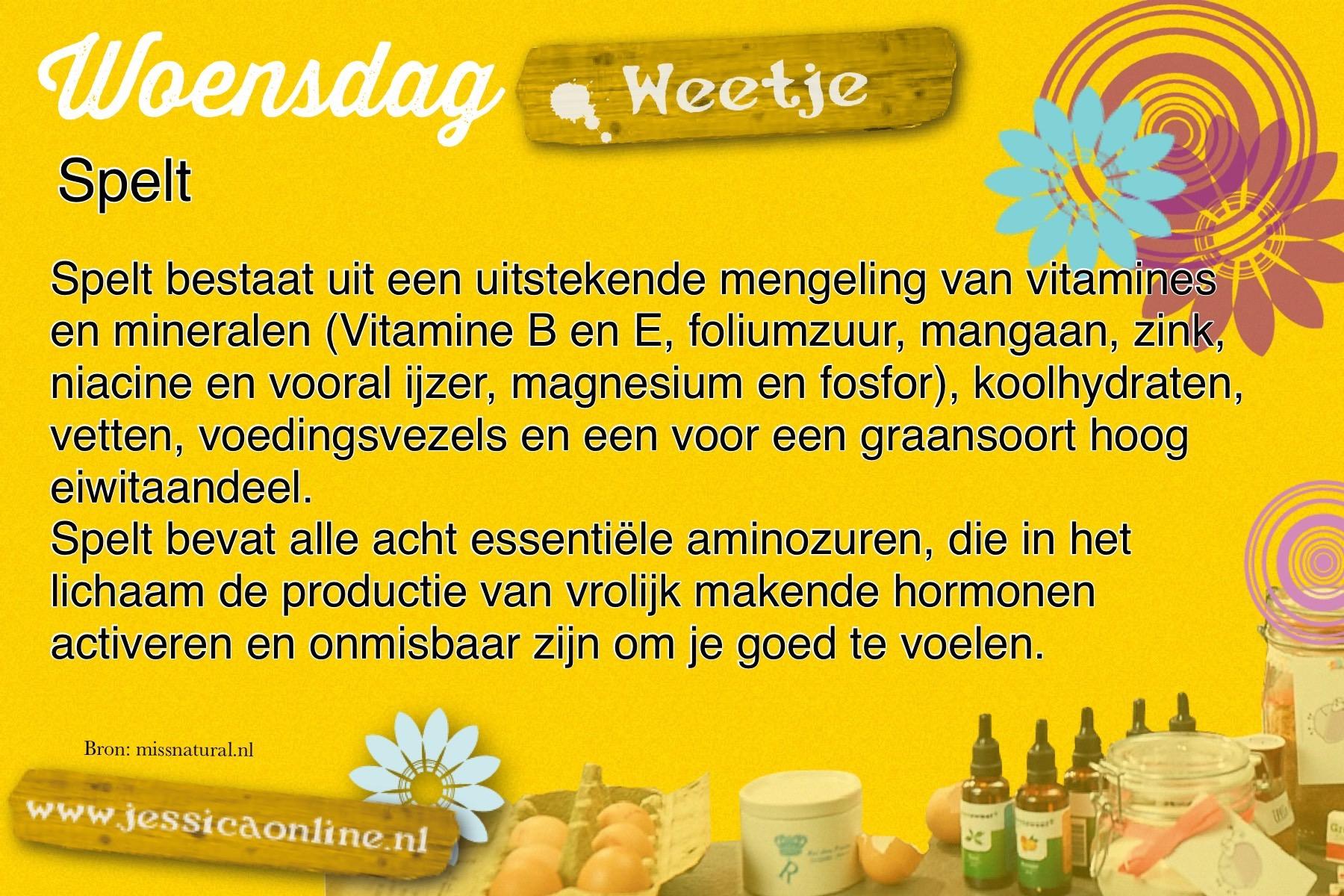 JessicaOnline.nl woensdag weetje 23