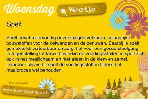 JessicaOnline.nl woensdag weetje 24