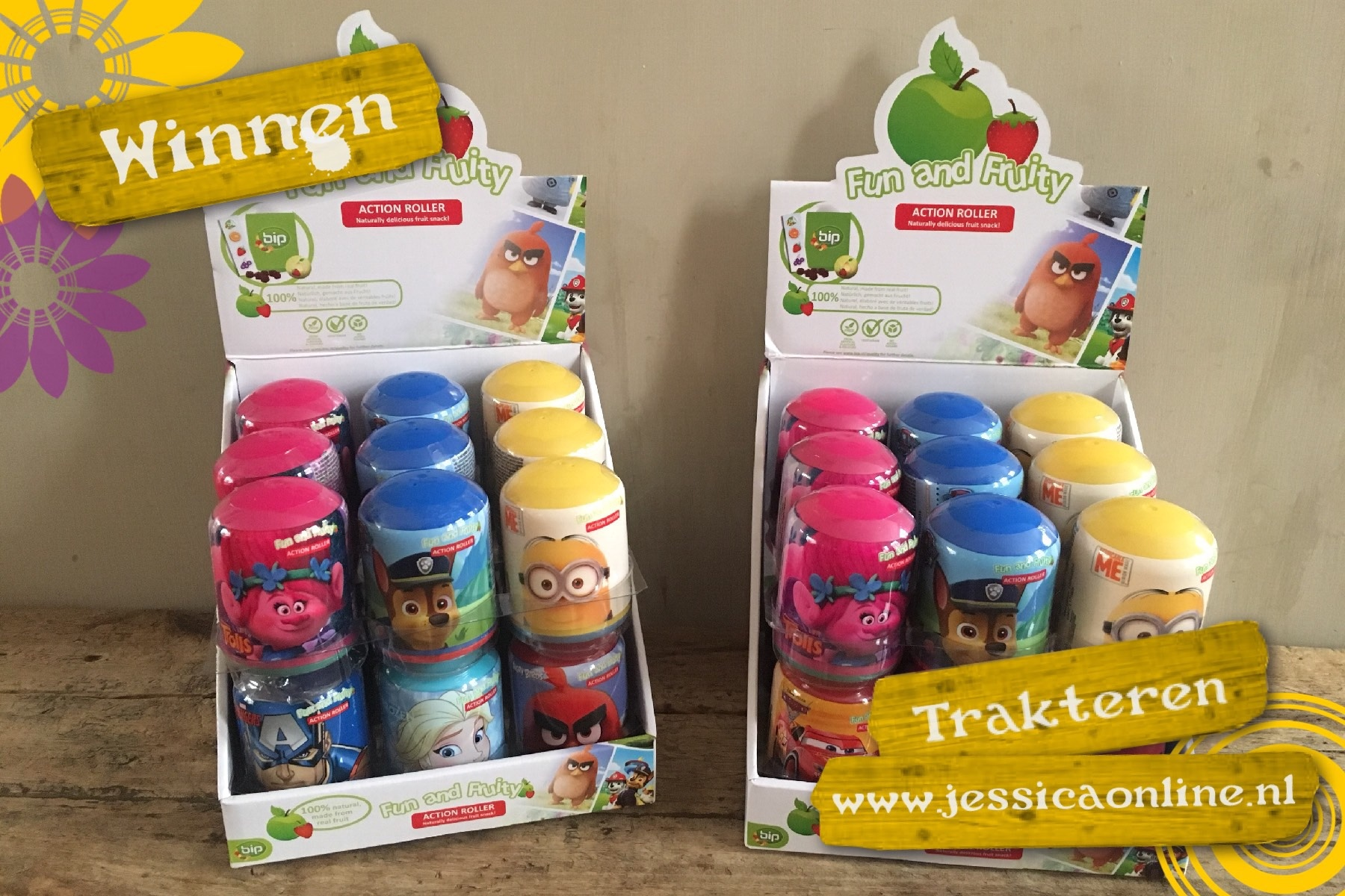JessicaOnline Bip Fruit Rollers