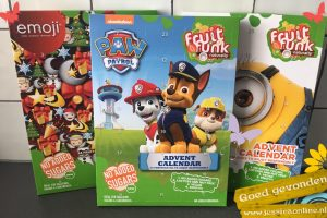 Advent kalender Fruit Funk JessicaOnline.nl