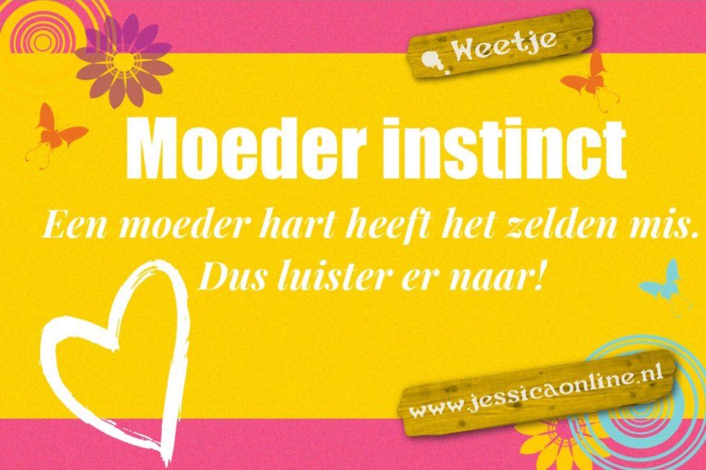Moeder instinct JessicaOnline.nl