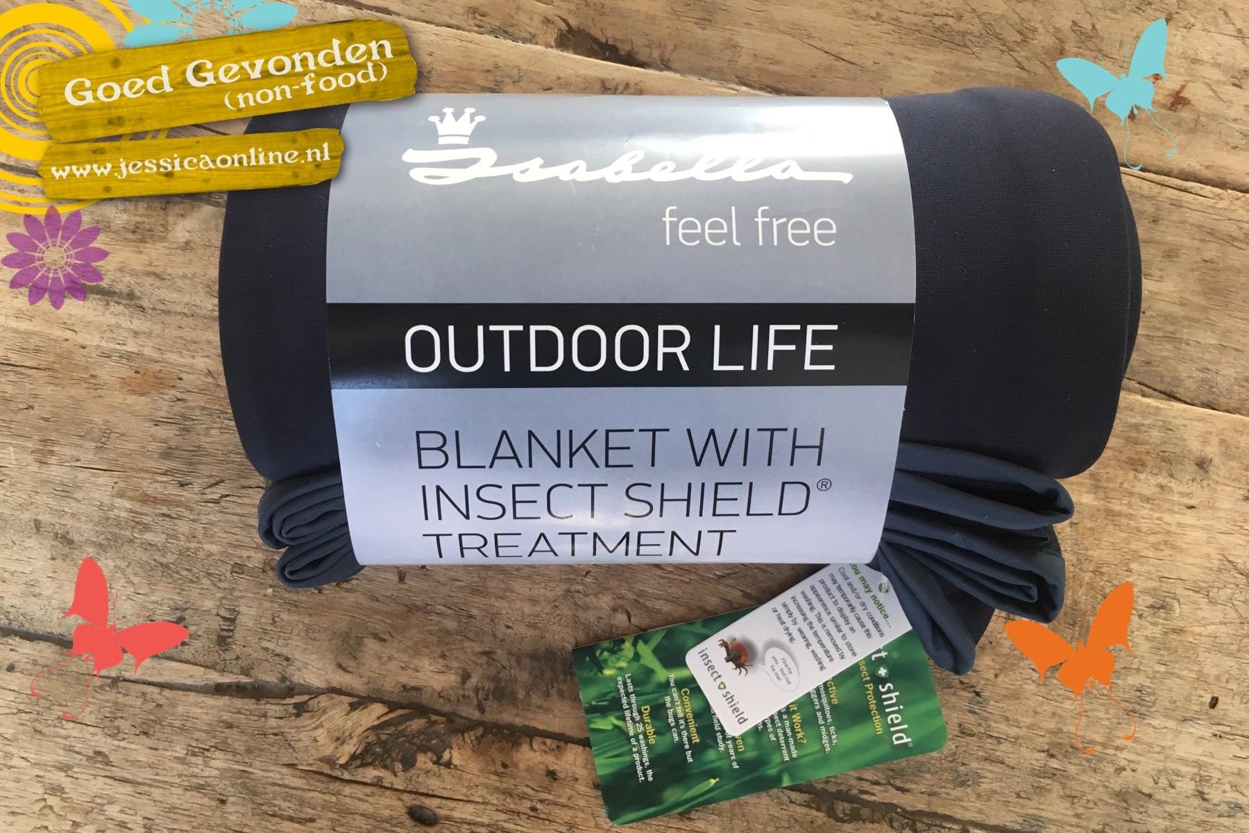 Een deken tegen de muggen
