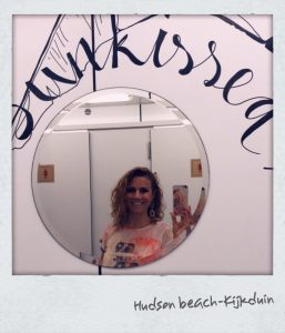 Jessica Mendels bijHUDSON BEACH Jessicaonline.nl