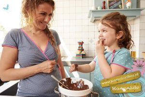 Bananencake met chocola-JessicaOnline.nl