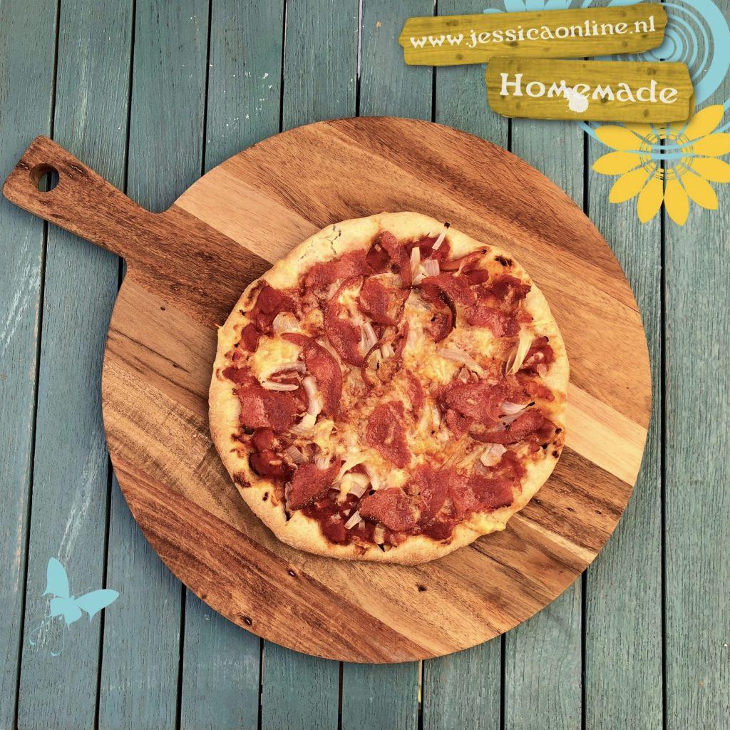 Homemade Speltpizza JessicaOnline.nl