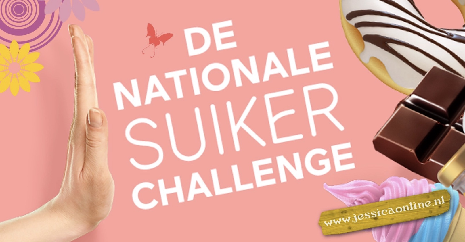 De Nationale suiker Challenge JessicaOnline.nl Diabetes Fonds