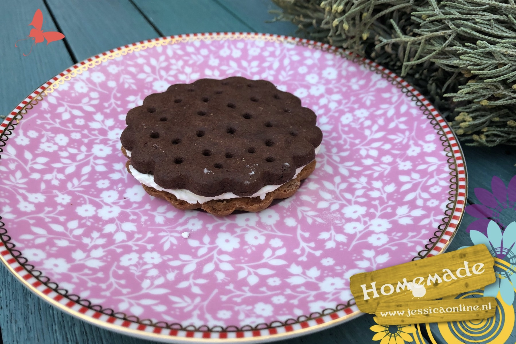 Chocolade-Vanille-Dubbellikker