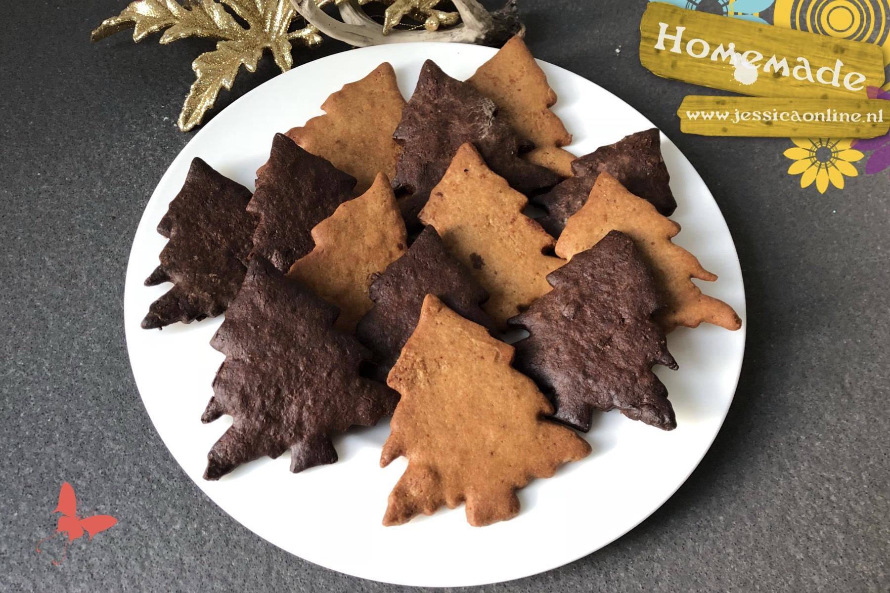 Kerst-(boom)-koekjes