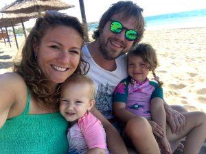 Familie Bom/Mendels in Spanje 2017