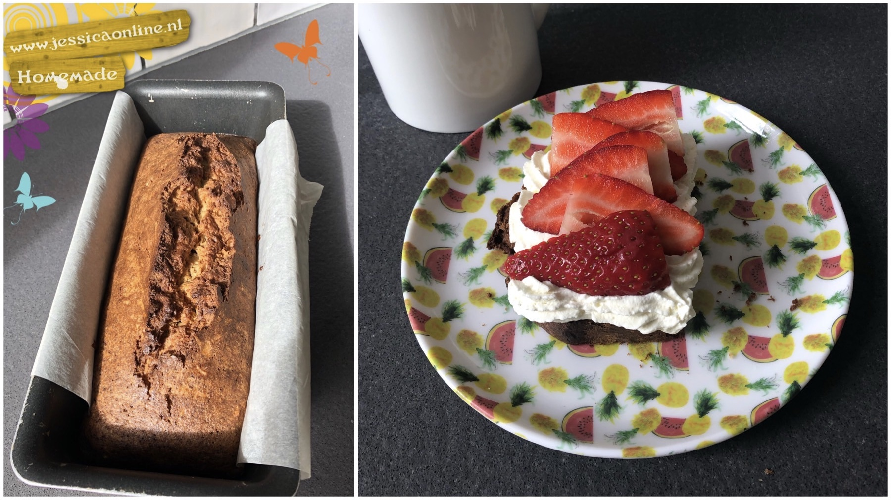 speltcake met vanille room - Jessicaonline.nl