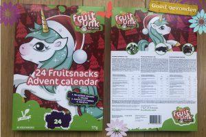 Adventkalender zonder toegevoegde suikers FruitFunk JessicaOnline.nl