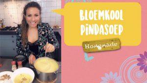 Bloemkool- pindasoep JessicaOnline.nl