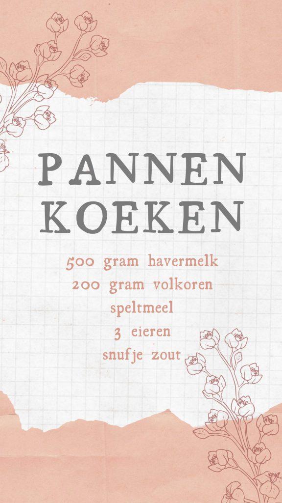 Pannenkoeken JessicaOnline.nl
