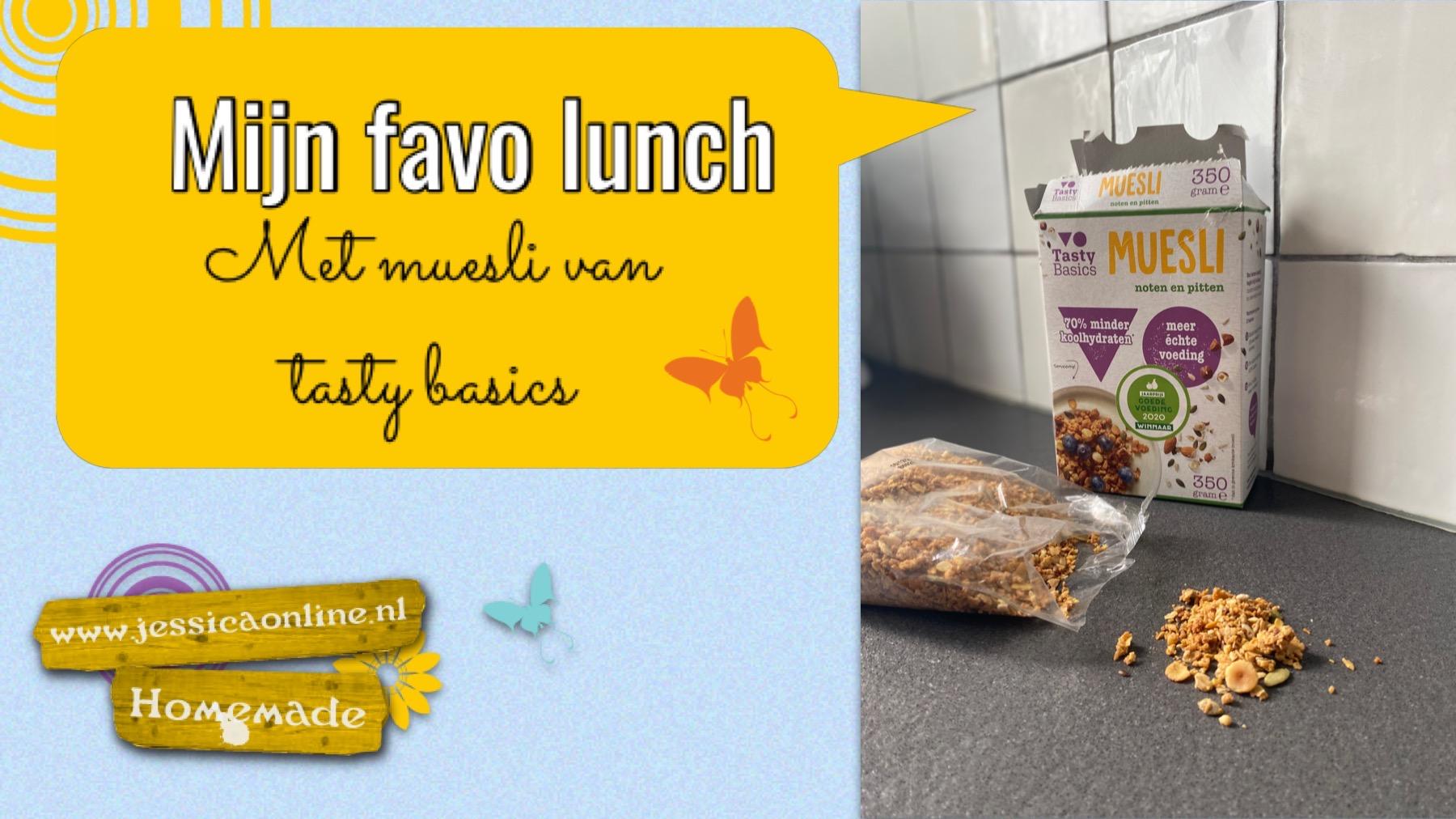 Mijn favo lunch met kwark en noten