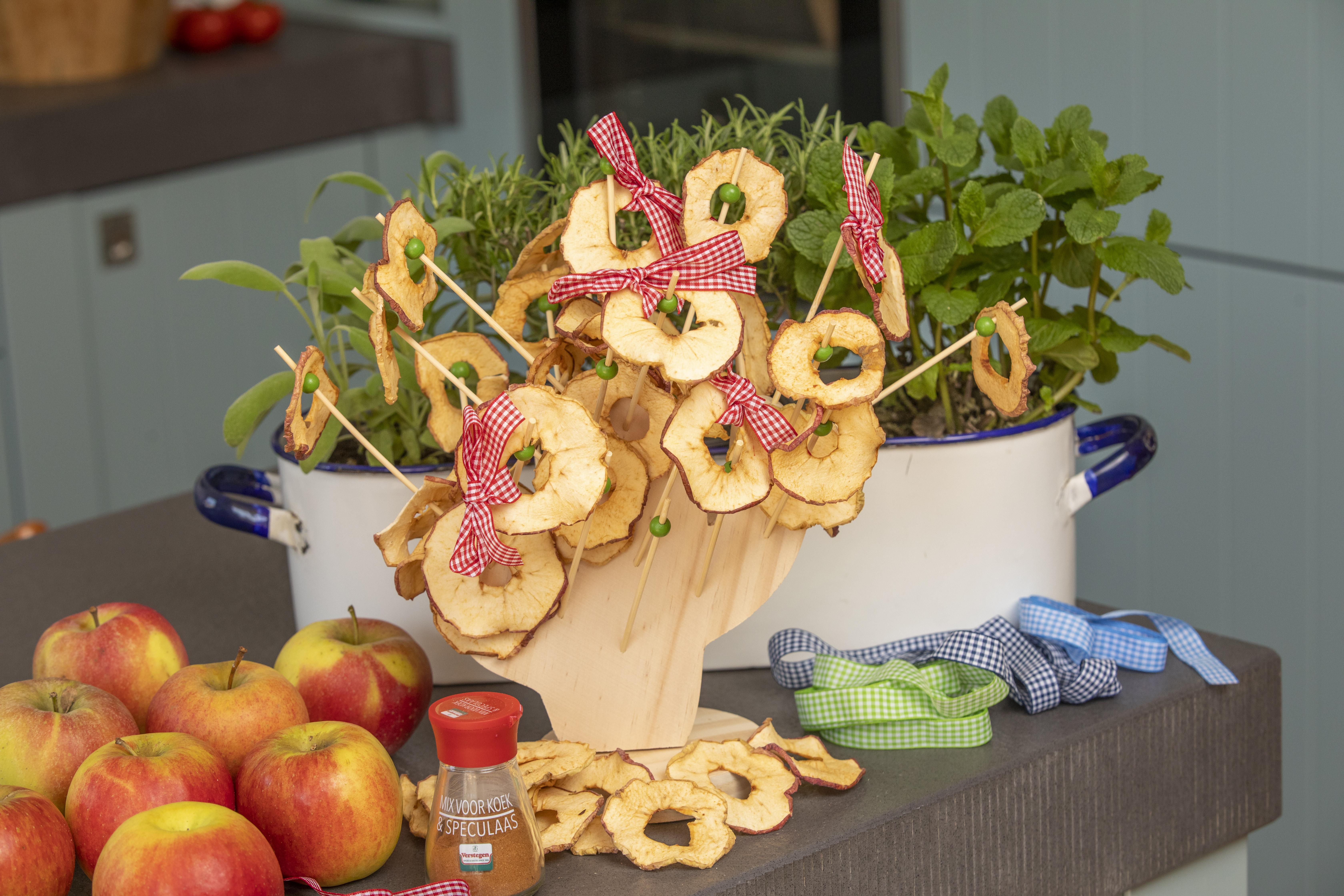 Gedroogde appeltjes JessicaOnline.nl