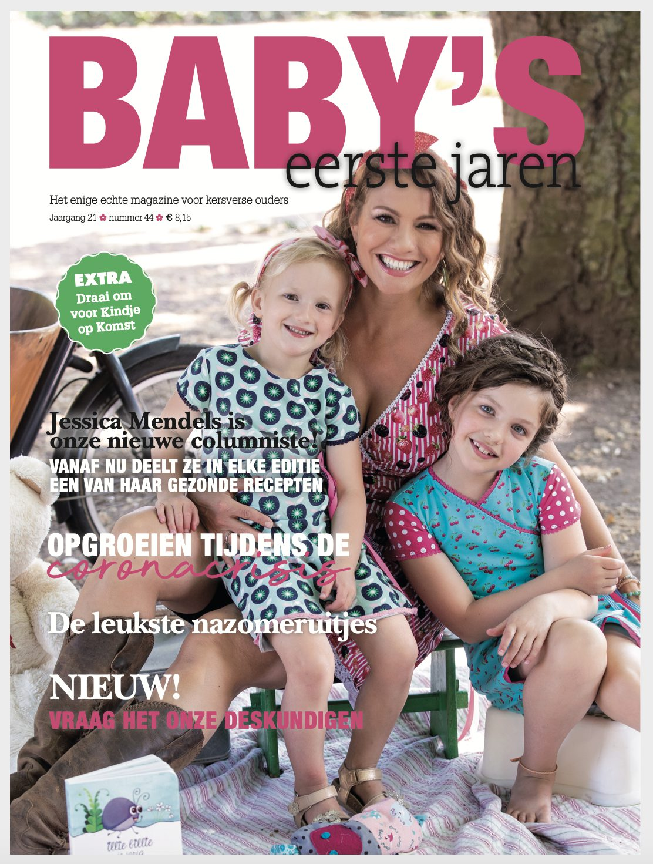 Baby's eerste jaren nieuwe columniste Jessica Mendels