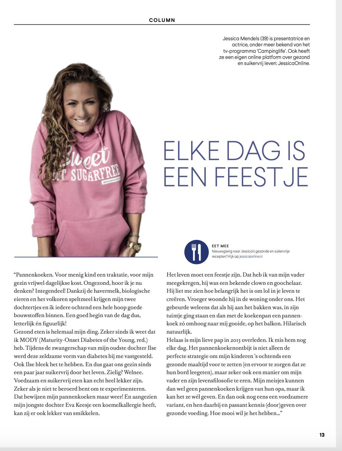 Vertel... Medireva Column JessicaOnline.nl