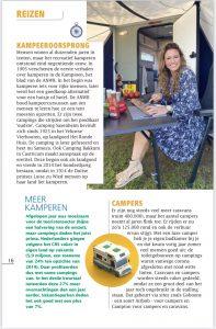 Jessica Mendels in de pers met RTL Kampeert