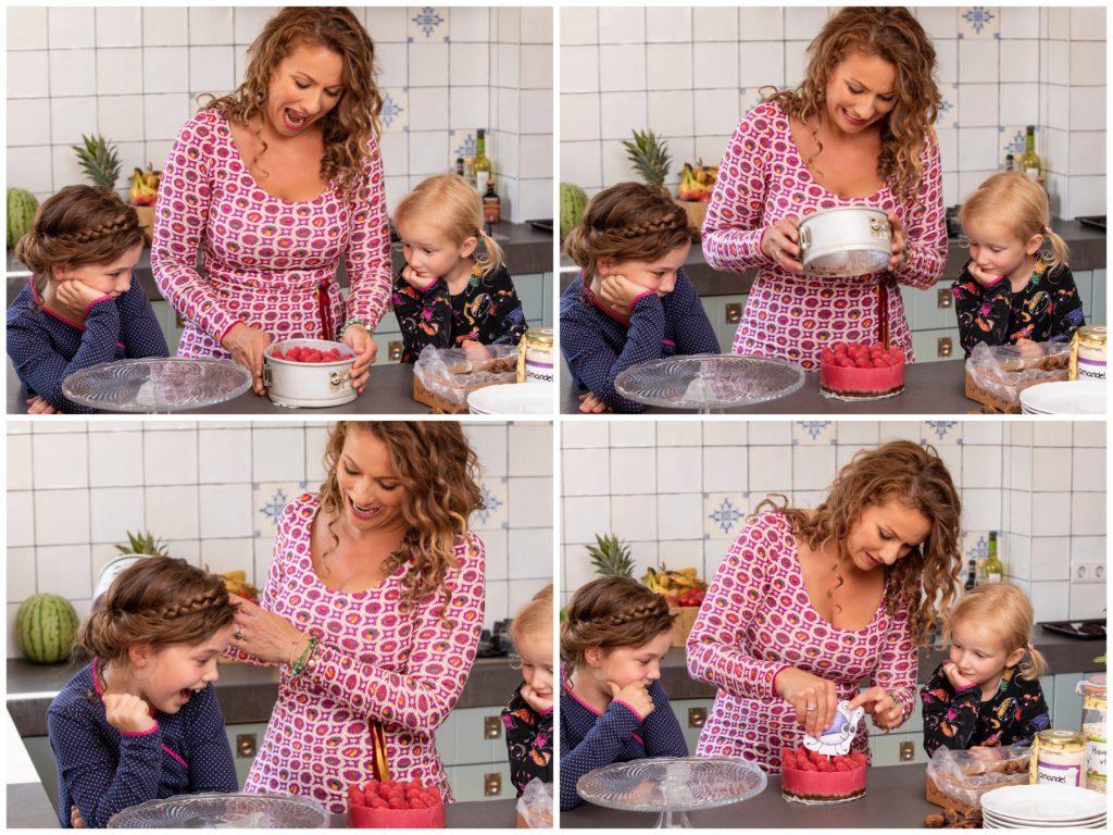 Illie Billie babytaart vegan glutenvrij zonder toegevoegde suikers