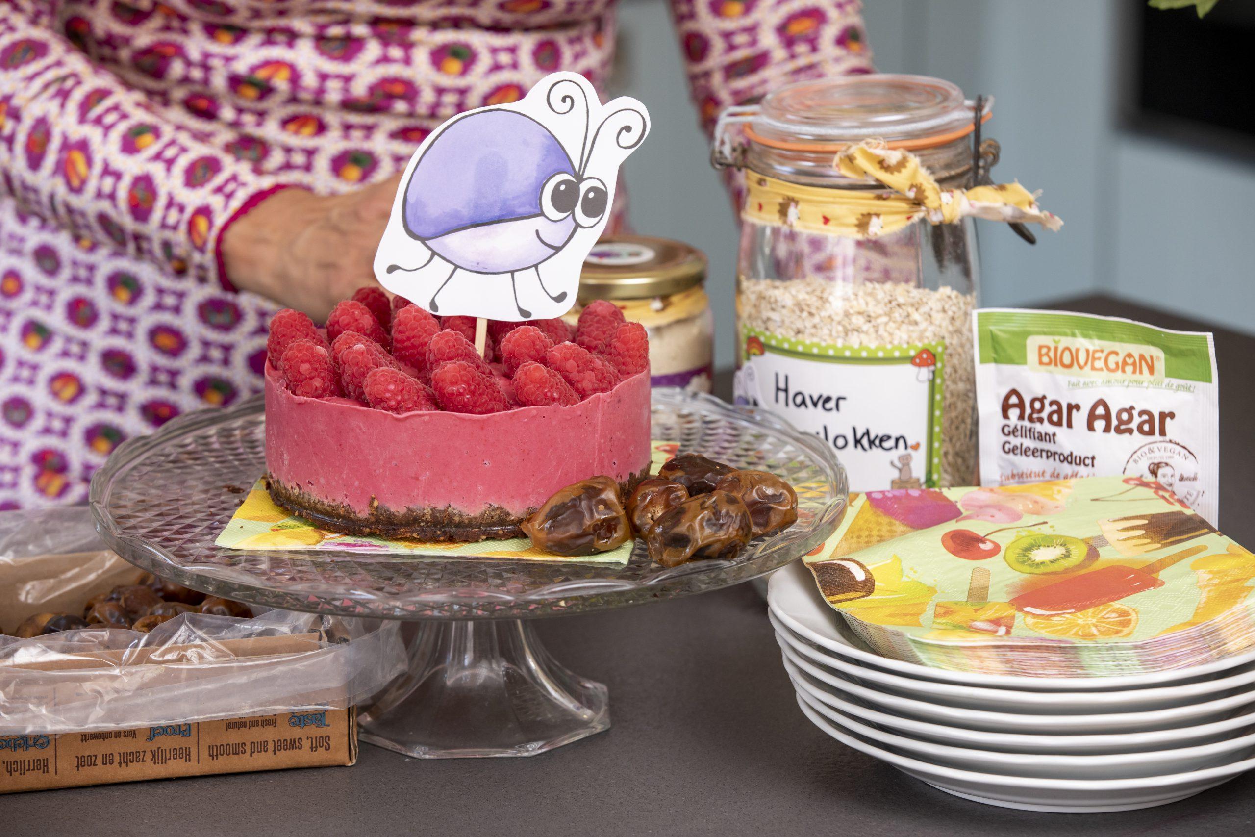 Vegan babytaart zonder toegevoegde suikers